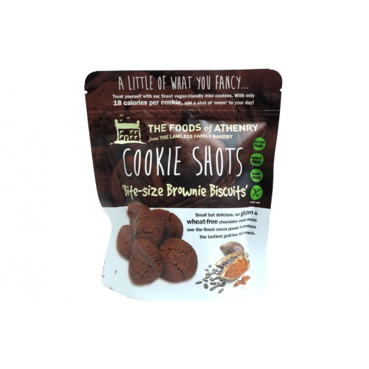 Cookie Shots Brownies by Foods of Athenry 120g