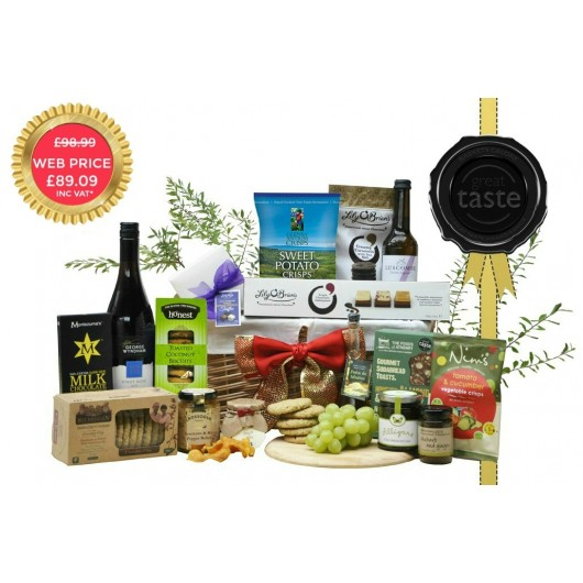 Great Taste Award Red Titanium Hamper