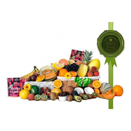 Tropical Energy Gift Basket