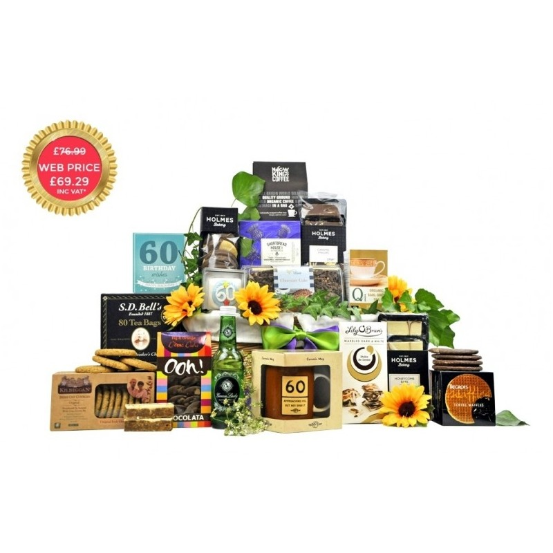60th Birthday Hamper Gifts: Fancy Pantry