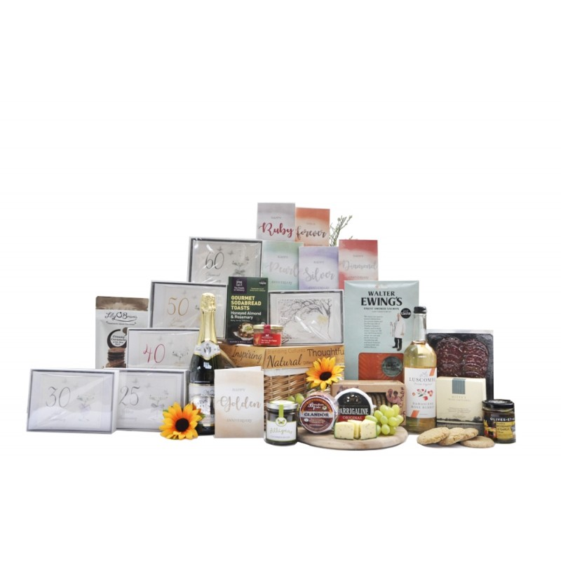 Anniversary Celebration Non Alcoholic Hamper Gift