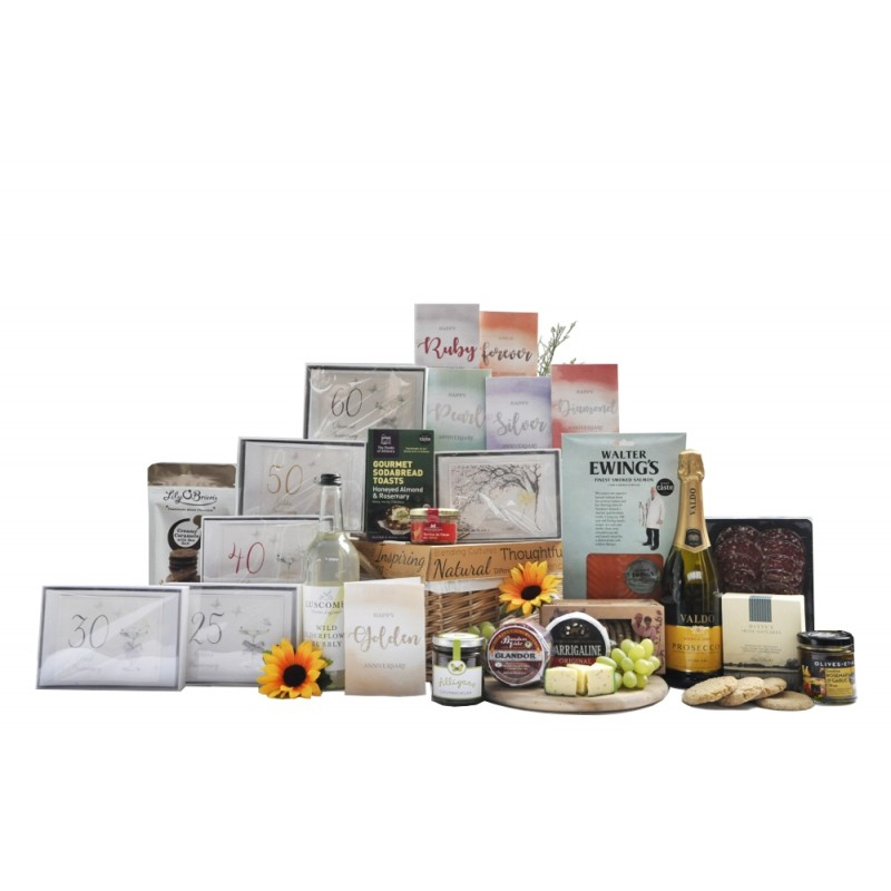 Anniversary Celebration Sparkling Hamper Gift