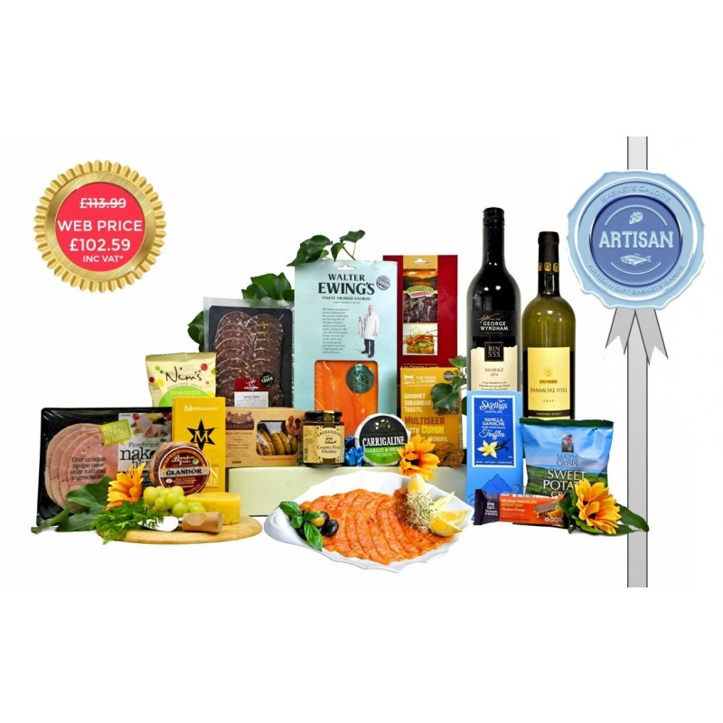 Artisan Twin Scran Hamper