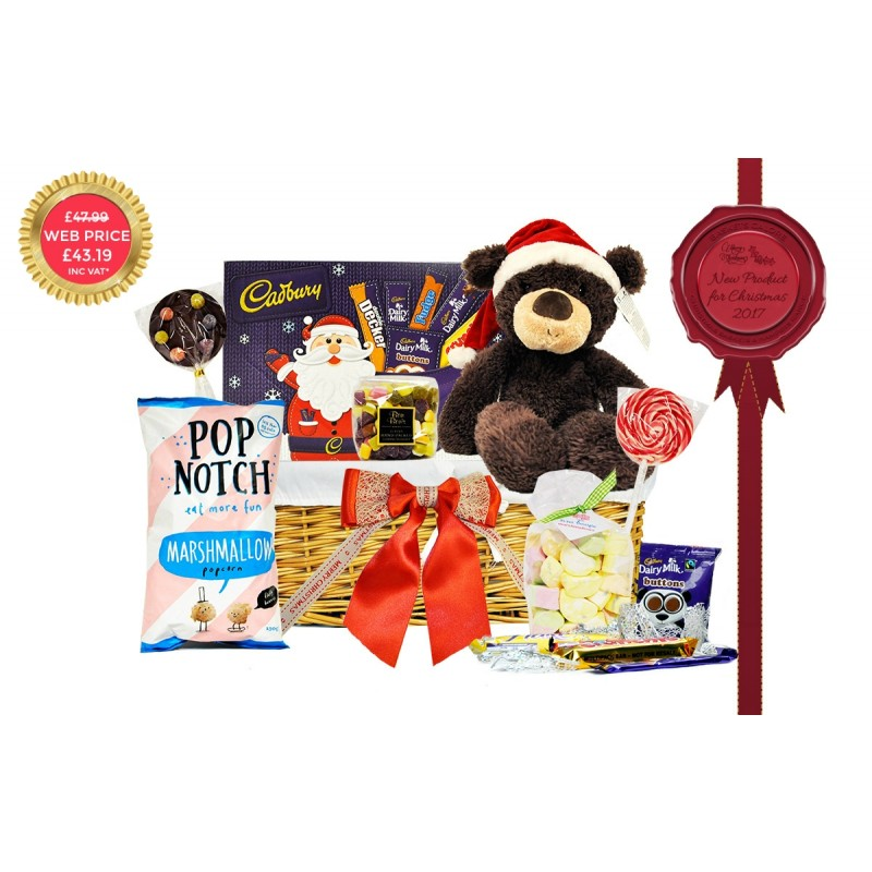 Bear-ey Christmas Basket