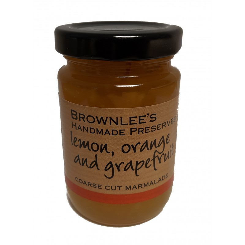 Brownlees Co. Armagh Preserves Lemon, Orange & Grapefruit Marmalade 110g