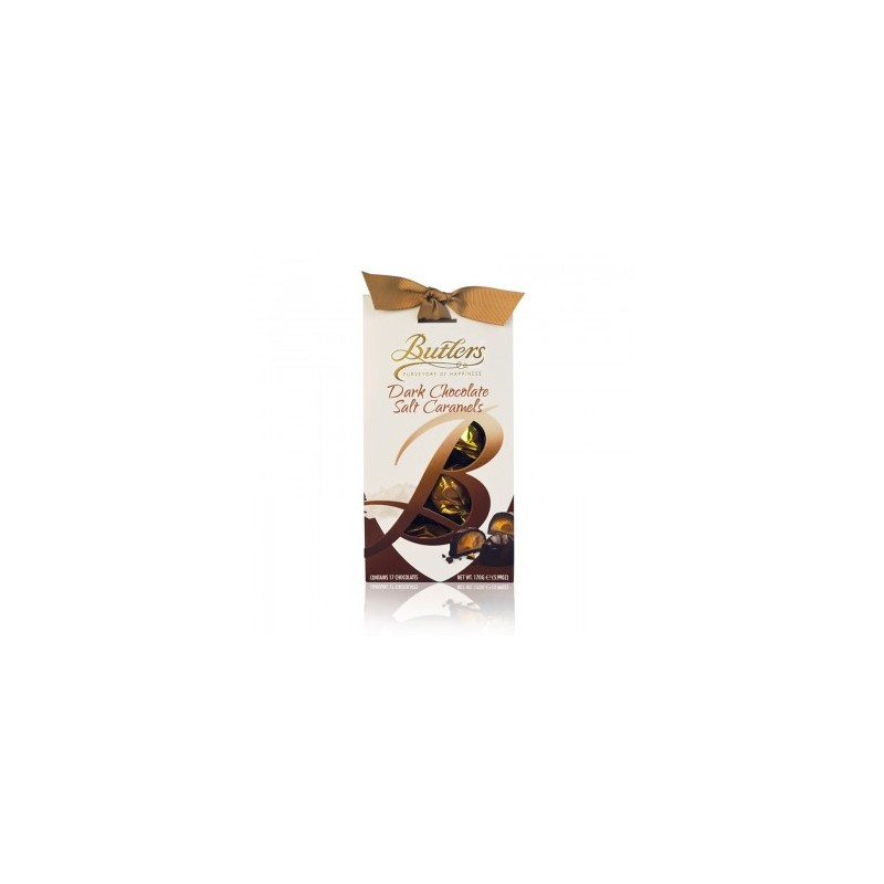 Butlers Dark Salted Chocolate Caramels by Irish Gourmet