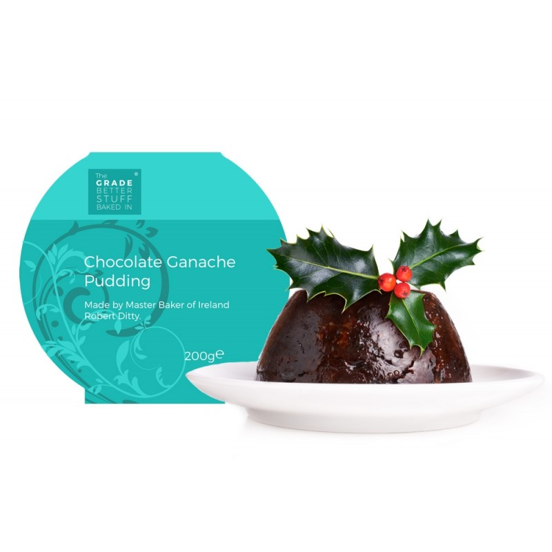 Christmas Chocolate Ganache Pudding 200 g