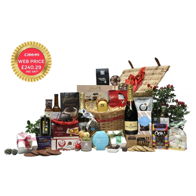 Chocolate Moet Extravaganza Hamper