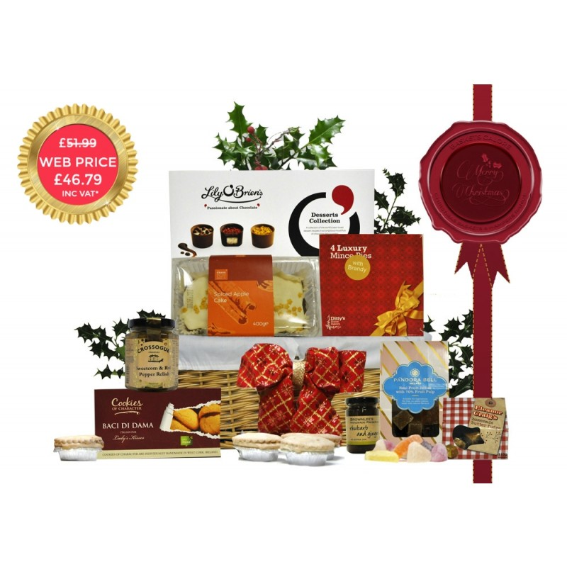 Christmas Tempter Gift Basket