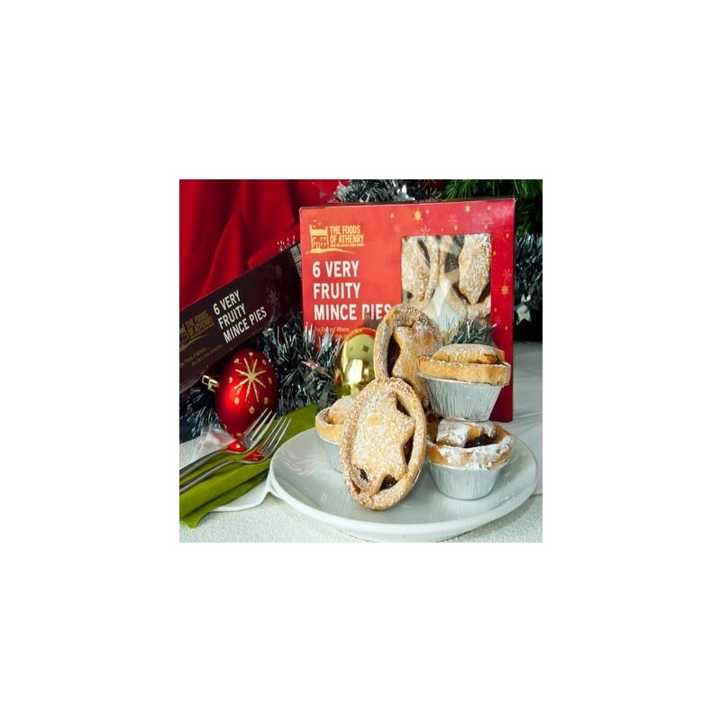 Very Fruity Starry Mince Pies from The Foods of Athenry 280g