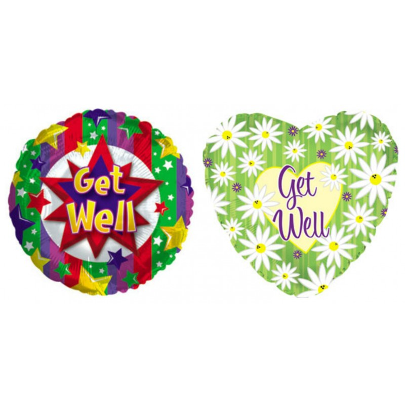 Adult's Get Well Balloon