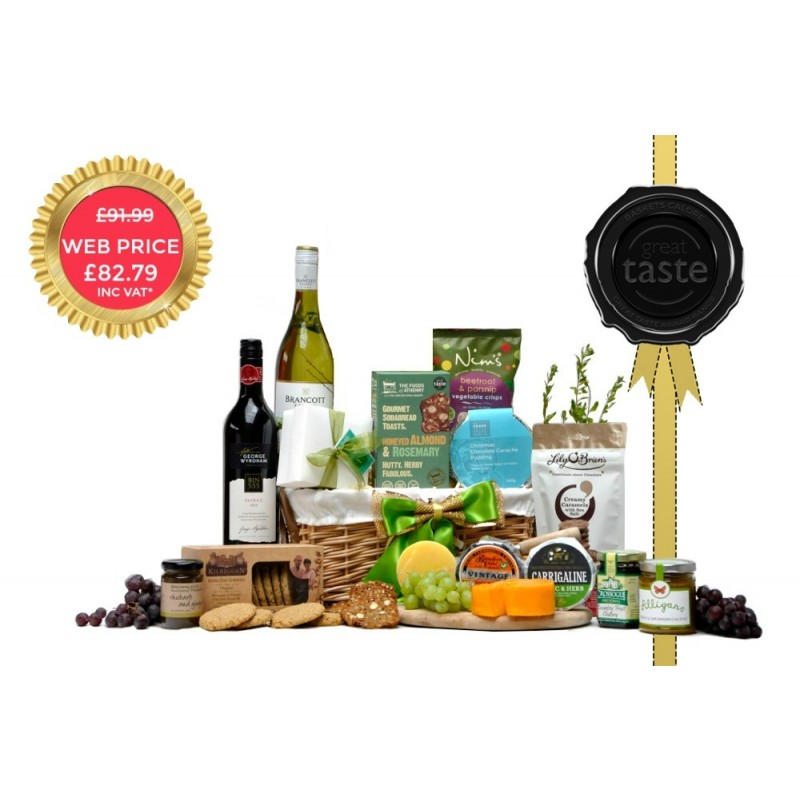 Great Taste Award Chrome Duo Hamper