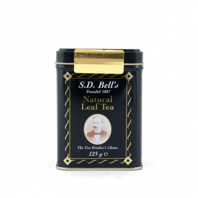SD Bell's Natural Leaf Tea Tin 125g