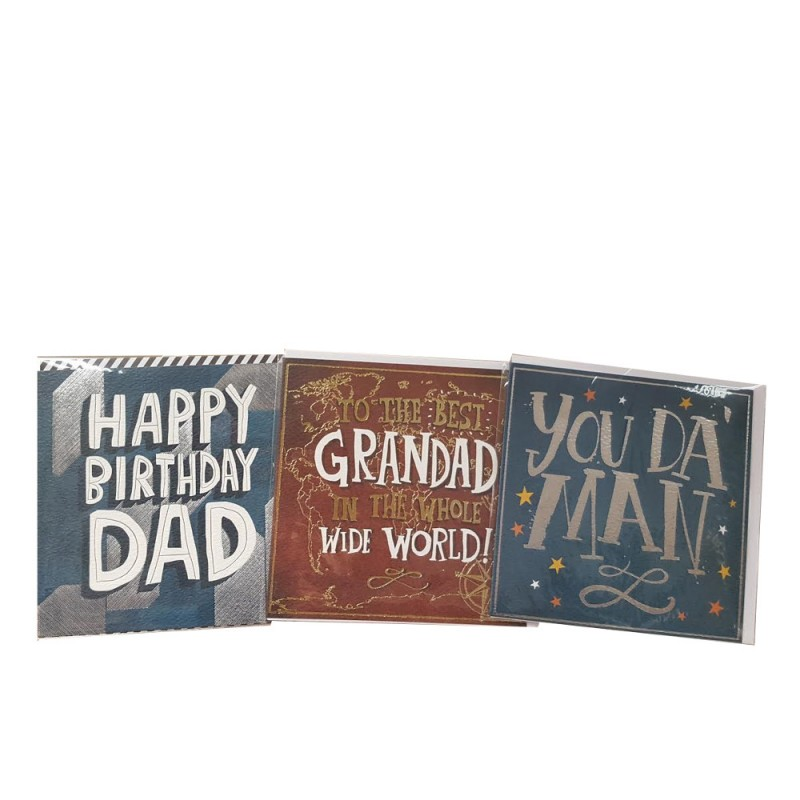 Male Happy Birthday Card