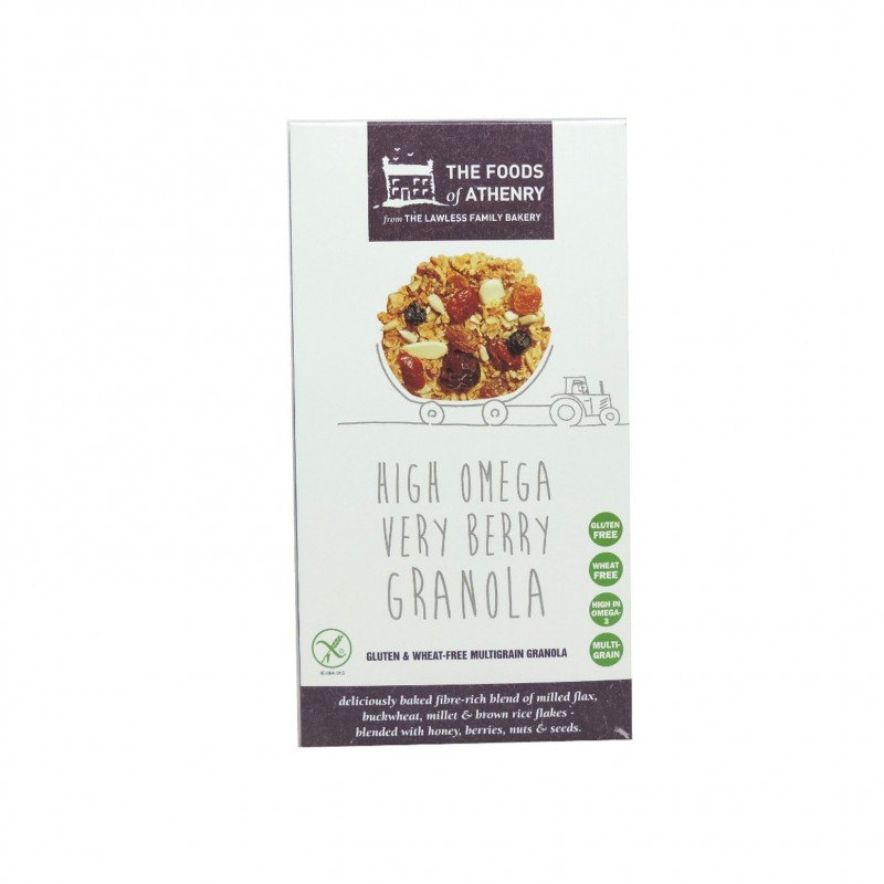 Very Berry High Omega Granola 450g