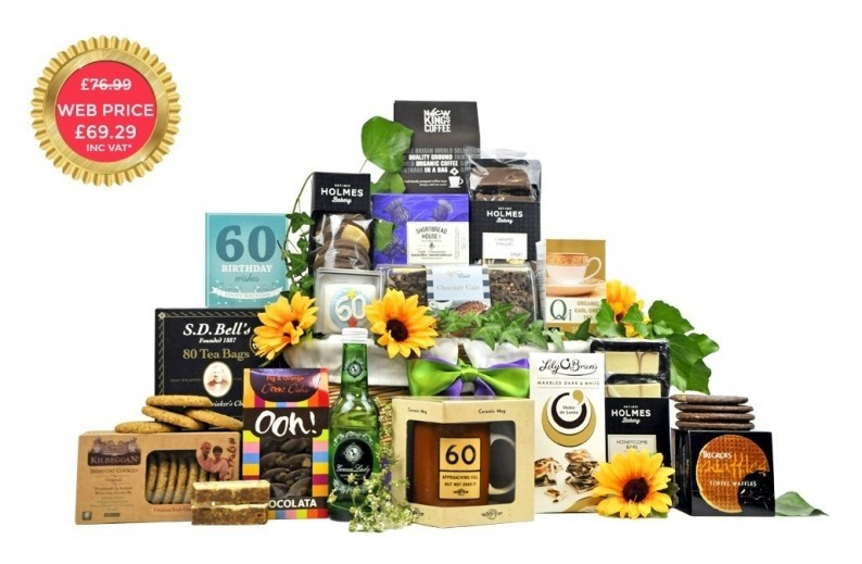 60th Birthday Hamper Gifts Fancy Pantry